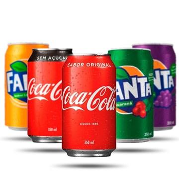 Imagem de Coca Cola Lata 350ml