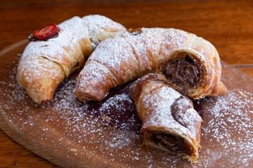 Imagem de Croissant Nutella com Morango (Un)